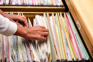 Учет и хранение документа