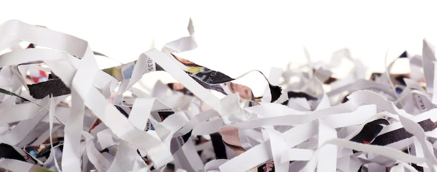 Кто занимается утилизацией документа